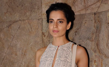 Bollywood actor Kangana Ranaut at the screening of 'Relvolver Rani. (SANSKRITI MEDIA AND ENTERTAINMENT)