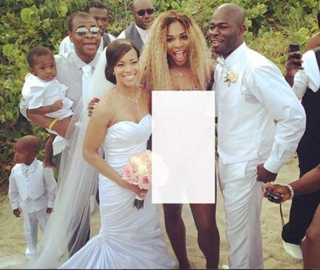 Out Of French Open, Serena Williams Crashes Wedding In