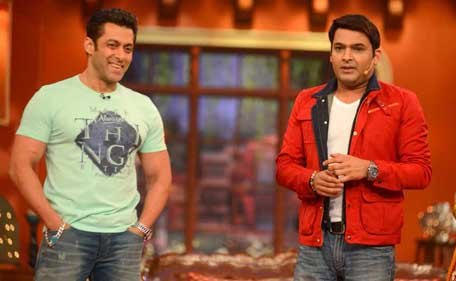 Kapil With Comedy Nights