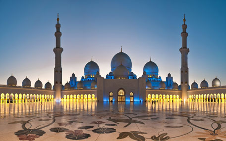 Sheikh Zayed Grand Mosque Centre Is World S Second Best