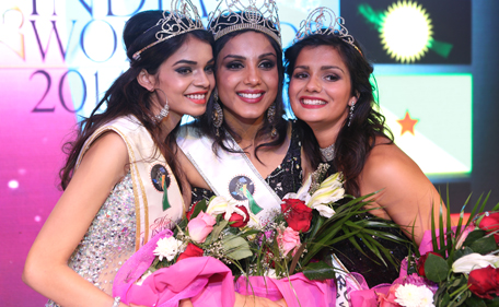 Monica Gill competed with 40 beauty queens of Indian origin from across the globe to win title.(Supplied)