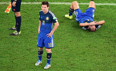 Messi 2014 World Cup Final