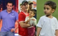 Photo: Salman Khan ignored; Aamir Khan's son Azad attracts more attention