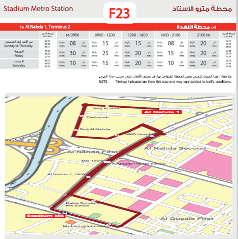 3 Bus Routes Launched In Dubai 2 Cancelled Emirates 24 7