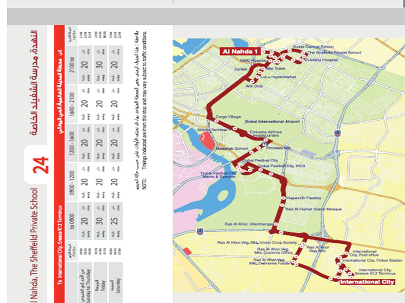 3 Bus Routes Launched In Dubai 2 Cancelled Emirates24 7
