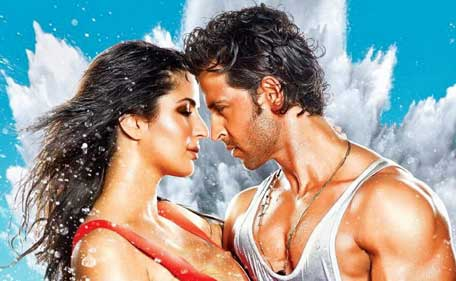 Bollywood actor Hrithik Roshan and Katrina Kaif in 'Bang Bang'. (SUPPLIED)