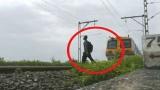 Photo: Video: Crazy Salman Khan fan performs 'Kick' train stunt (seemingly)