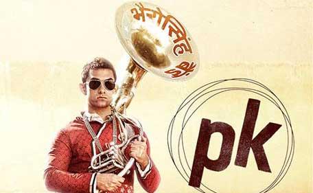 Shah Rukh Khan takes a dig at Aamir Khans PK poster | The Indian Express