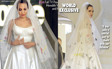 Ring Dropped Poison Bouquet Dh36m Deal Angelina Pitt Wedding
