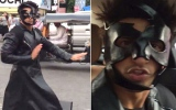 Photo: Ranveer dances in the middle of street, accepts Hrithik's challenge