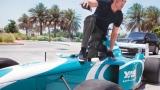 Photo: Video: Watch Hrithik Roshan race F1 car on 'busy' Abu Dhabi street