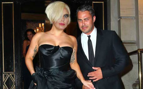 Lady Gaga and Taylor Kinney got engaged on Valentine's Day. (Bang)