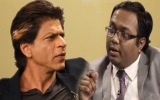Photo: Shah Rukh takes Arnab Goswami's help to promote Happy New Year