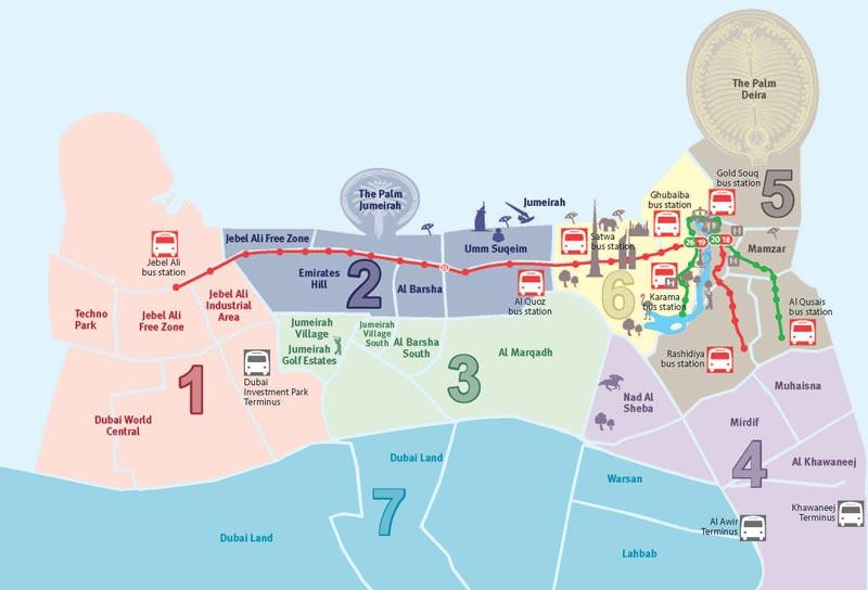 Dubai Metro Tram How To Travel For Half Price News Emirates Emirates24 7