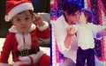 Photo: AbRam brings early Christmas, 'Happy New Year' for Shah Rukh