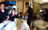 Photo: Video: Robbie Williams' wife in labour