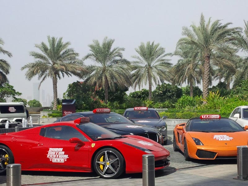 Ride Dubai Supercar Taxi For Free When How Emirates