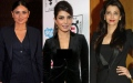 Photo: Battle of the black suit: Aishwarya Rai, Kareena and Priyanka Chopra