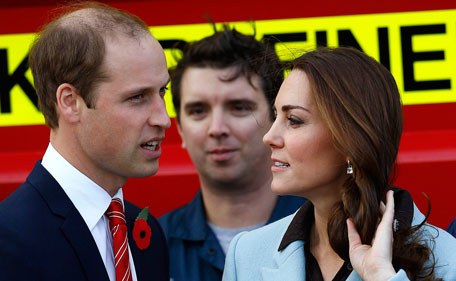Britain's Prince William and Duchess Catherine don't have plans to advertise for a nanny for their second child.  (Reuters)