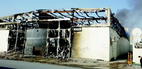 Warehouse gutted in Sharjah morning fire - Emirates24 7