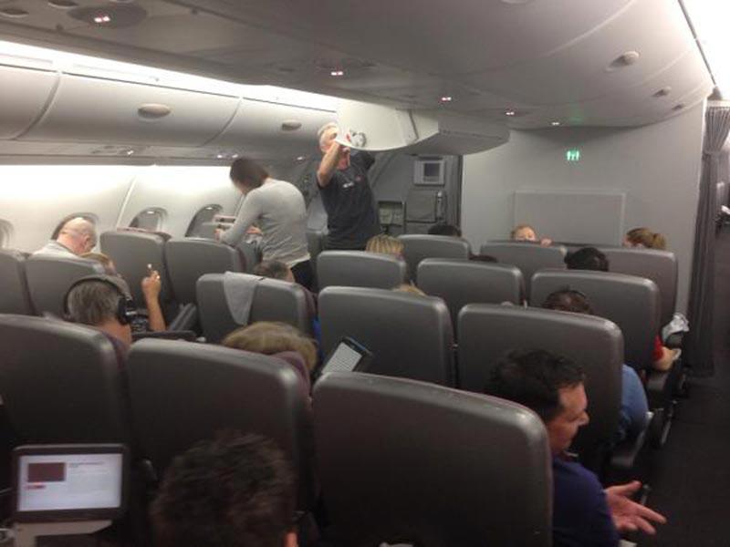 Dubai-Sydney Qantas flight diverted to Perth for emergency