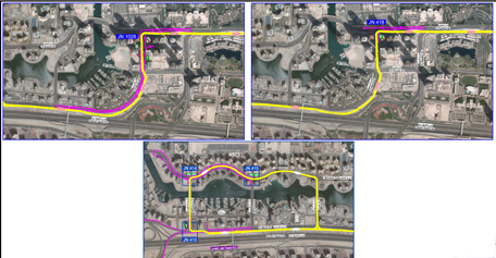 RTA has started closing some left turns and U-turns at five junctions in Dubai Marina and Jumeirah Beach Residence (JBR). (Supplied)