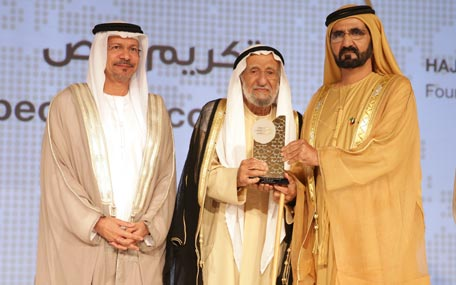 Sheikh Mohammed bin Rashid honoured winners of the 2nd Islamic Economy Award in Dubai. (Wam)