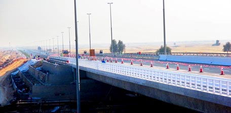 Design of the bridge focusses on ensuring highest safety levels for all road users (Supplied)
