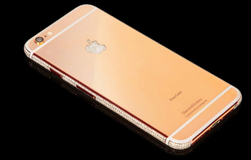 The diamond-rose-gold-iPhone-6. (Supplied)