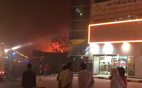 2 fires in Oud Metha, Dubai - Emirates24|7