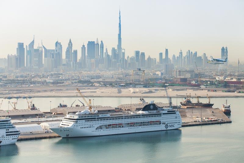 A First 5 Cruise Ships At Dubai S Mina Rashid Emirates 24 7