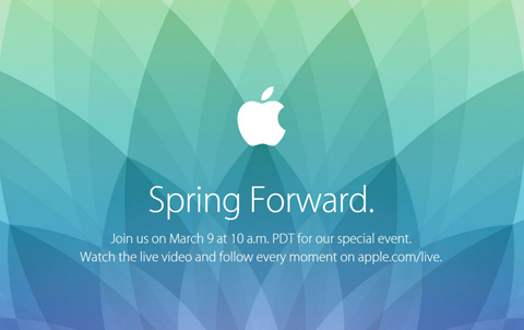 The Apple invite for the Monday event. (Supplied)