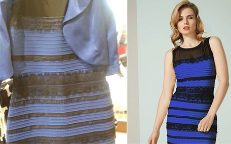What colour the dress looks like, and what it really is. (YouTube)