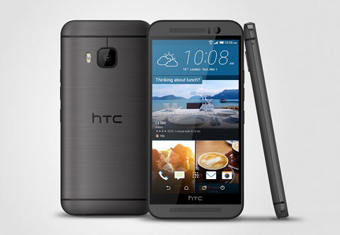 The new HTC One M9. (Supplied)