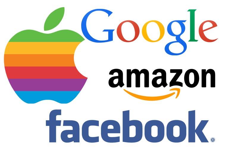 Top Apple, Google, Facebook, Amazon: Tech leaders today, has-beens  CA39