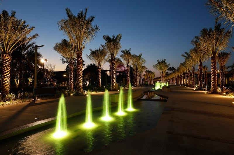 Mushrif Central Park - Evening Promenade. (Supplied)
