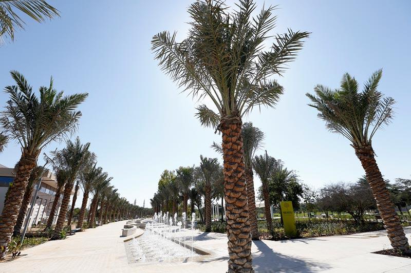 Mushrif Central Park - Promenade. (Supplied)
