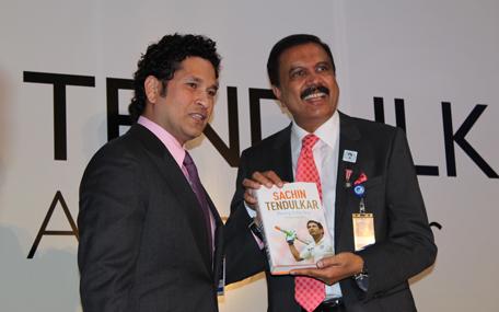Sachin Tendulkar in Dubai picked New Zealand as the dark horse to win the World Cup. (Bindu Rai)