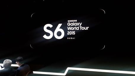 Samsung S6 launch event. (Vicky Kapur)
