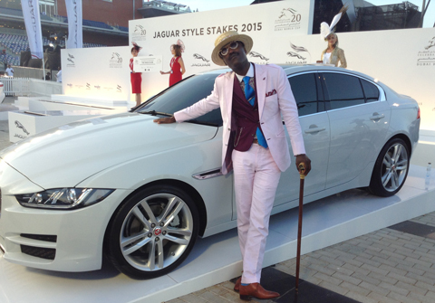 Best Dressed Man Marlon Weir won the Jaguar Style Stakes for the second consecutive year. (Ajanta Paul)