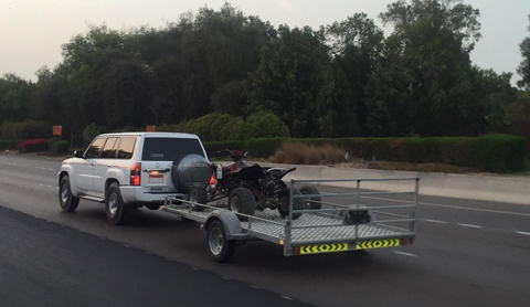 Drivers not abiding by the public safety specifications and conditions when attaching trailers to the backs of their vehicles may pose risks for other road users. (Supplied)