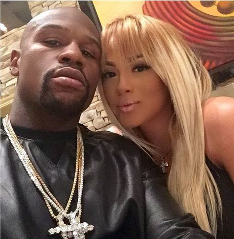 'Special' member of The Money Team with Floyd Mayweather @ Instagram