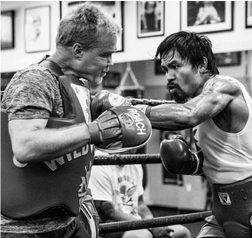 mannypacquiao @ Instagram... 10 days to go. #TeamPacquiao #MayPac