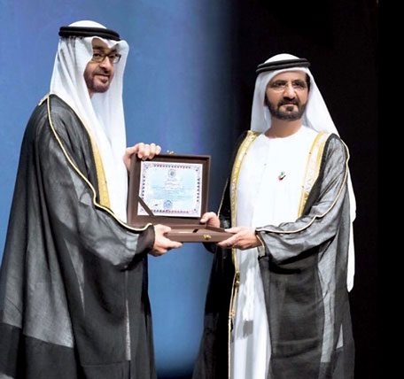Proud To Be Zayed Award S Cultural Personality Of The Year Mohammed News Government Emirates24 7