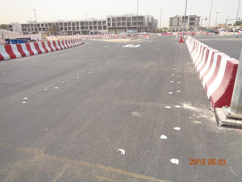 The Roads and Transport Authority (RTA) has opened Phase II of the main traffic diversion works on Al Wasl Road nearby Safa Park in order to make room for new work areas towards the completion of bridges planned under Phase II of the Dubai Water Canal project. (Supplied)