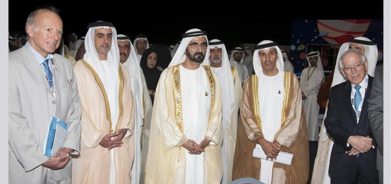 His Highness Sheikh Mohammed bin Rashid Al Maktoum, Vice-President and Prime Minister of the UAE and Ruler of Dubai, on Monday witnessed the launch of the Strategic Plan for the UAE Space Agency in Abu Dhabi.
