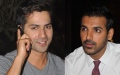 Photo: Morocco to Abu Dhabi: Varun Dhawan, John Abraham's 'Dishoom'