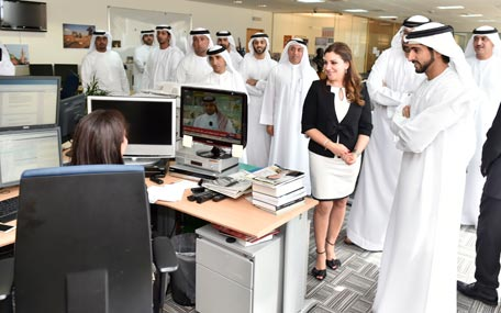 Hamdan launches Thomson Reuters Innovation Laboratory