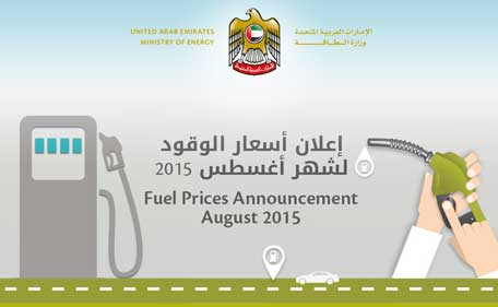 Ministry of Energy in the UAE announces new price of petrol and diesel in the country. (Supplied)