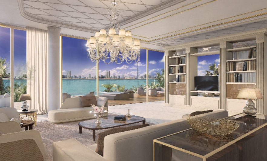 Bentley To Design Dh55m Villas On Dubai 39 S Sweden Island Emirates 24 7